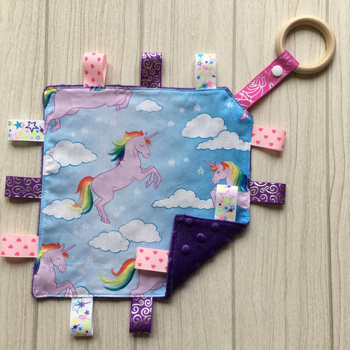 Unicorn Taggie