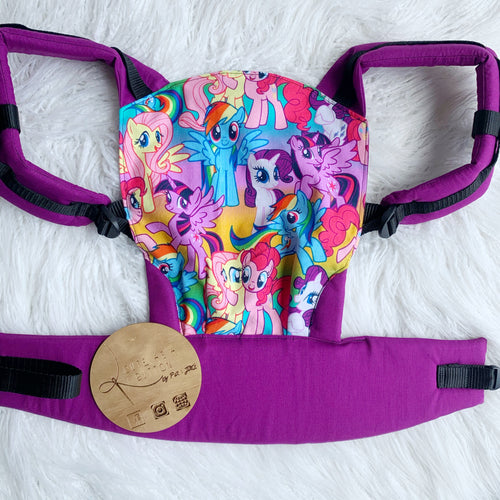 My little pony doll carrier, mini soft structured carrier