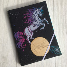 A4 sketch book with Lenny lamb equestrian galaxy dust cover