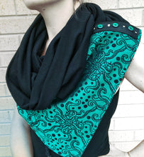 Stretchy cowl and matching zip around ncw featuring Moondani Ursula