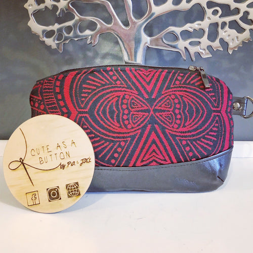 Zipper pouch featuring Ankalia Foundation Fire