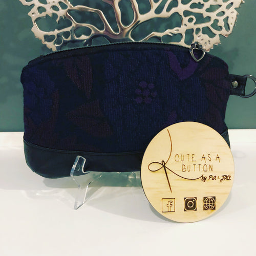 Zipper pouch featuring Ankalia Alchemy's Bloom