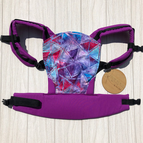 Tidepool doll carrier, mini soft structured carrier