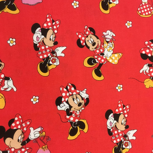 Minnie Mouse - red
