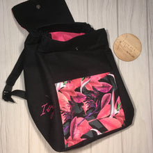 "Custom ""The Ivy"" satchel backpack"