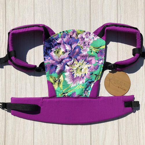 Plum posey doll carrier, mini soft structured carrier