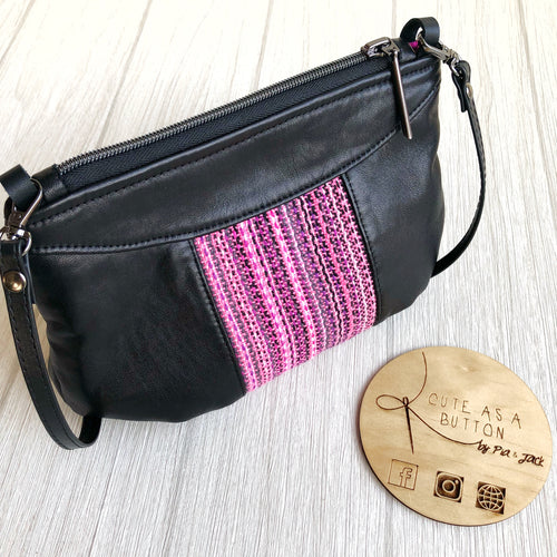 Alice crossbody bag featuring Erizo handwoven
