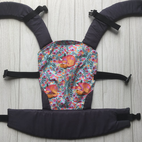 Fox nap doll carrier, mini soft structured carrier