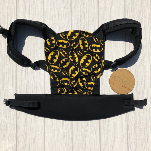 Batman doll carrier, mini soft structured carrier
