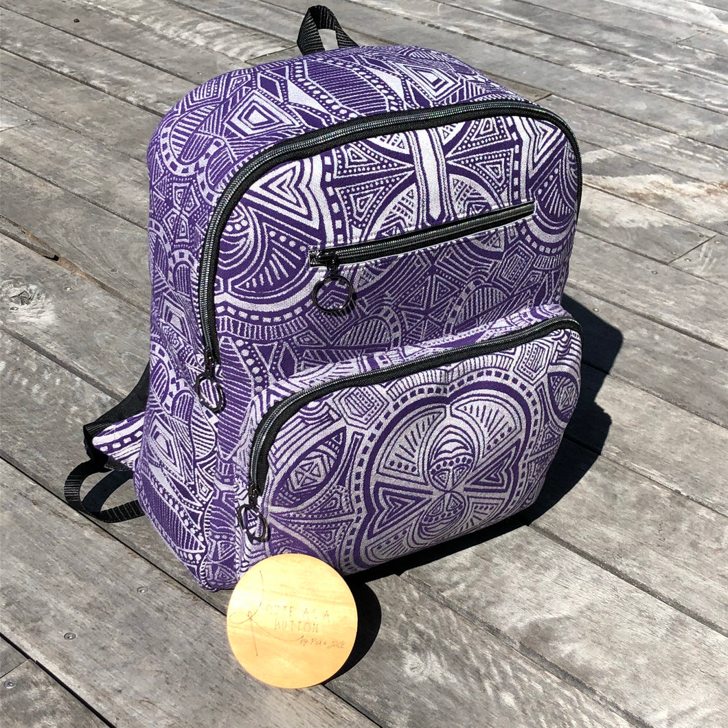 Large back pack featuring ankalia Foundation dionysus