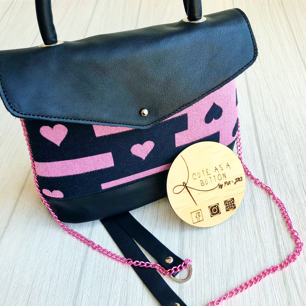Xoxo bag featuring aroha sweet heart marzipan