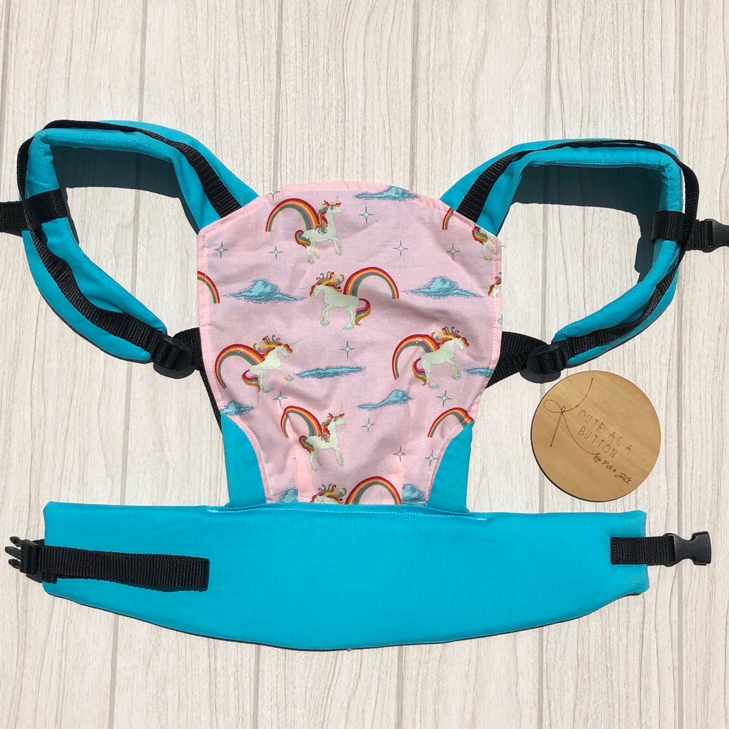Unicorny doll carrier, mini soft structured carrier