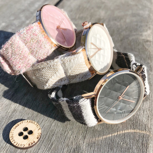Pre order- wrap band watches