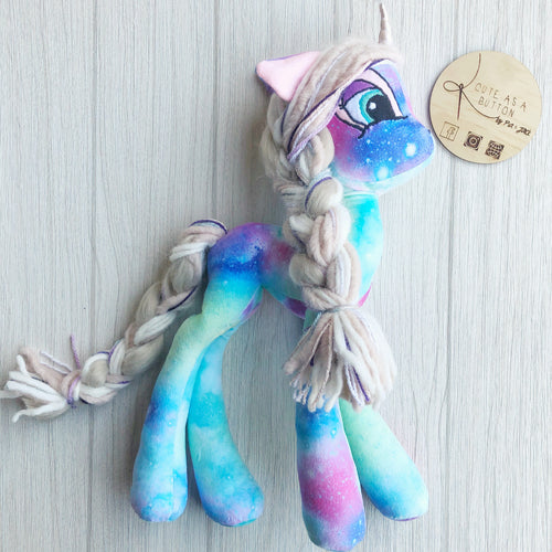 Pastel galaxy unicorn