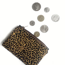 Coin pouch- Leopard