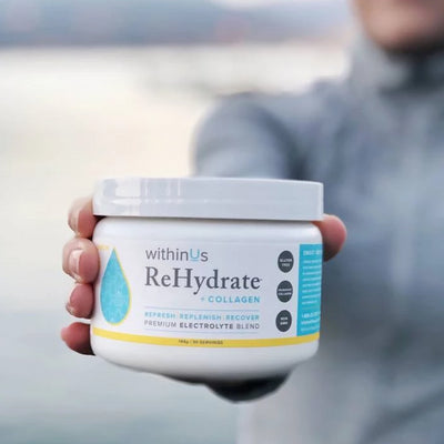 ReHydrate + TruMarine™ Collagen Lemon