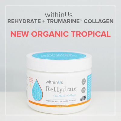 ReHydrate + TruMarine™ Collagen Tropical