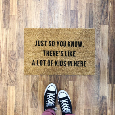 Just so you know... | Door Mat