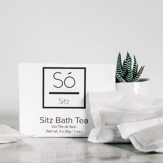Sitz Bath Tea - The Local Space - Só Luxury - Langley, BC