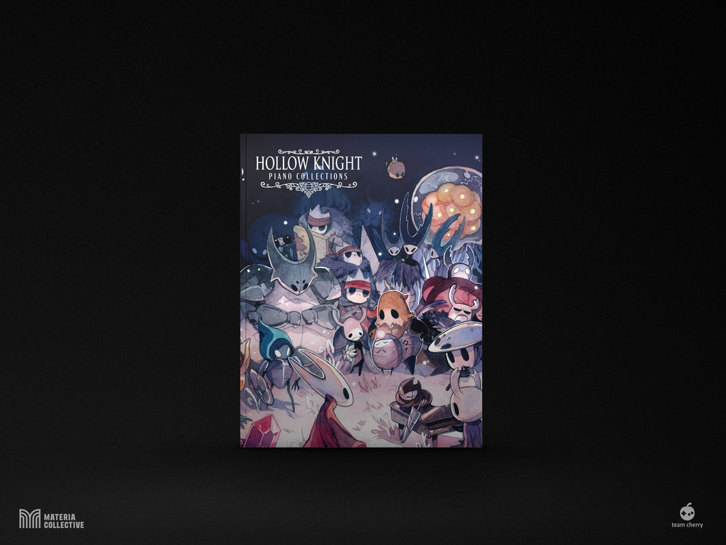Hollow Knight Piano Collections Physical Sheet Music Book