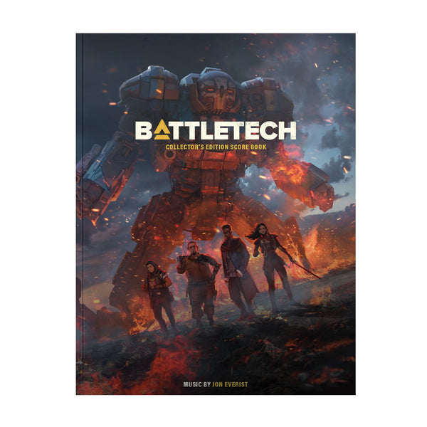 Battletech Collectors Edition Score Book (Physical Sheet Music) Music