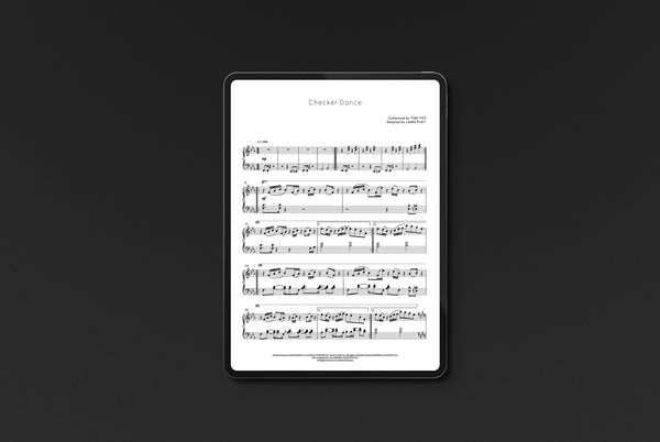 Deltarune Incomplete Piano Score (Digital Sheet Music) Music