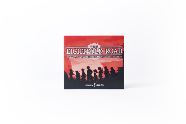 The Eightfold Road: Metal Arrangements From Octopath Traveler (Compact Disc) Compact Disc
