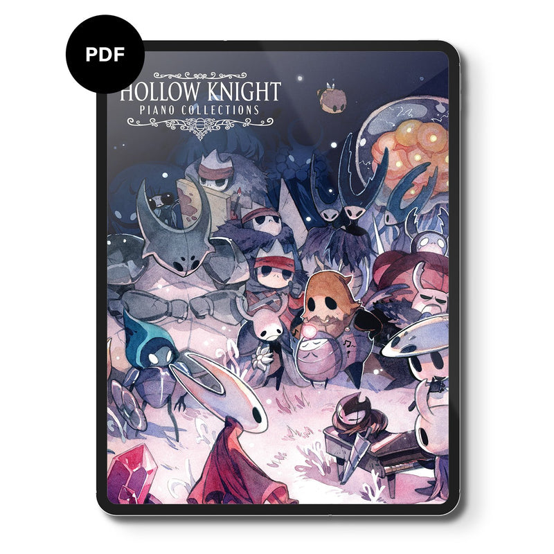 Hollow Knight Piano Collections (Digital Sheet Music) Music