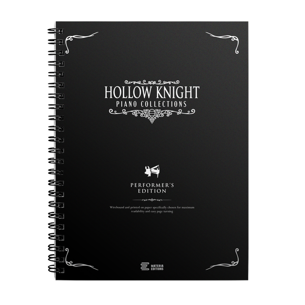 Hollow Knight Piano Collections (Performer's Edition Sheet Music Book)