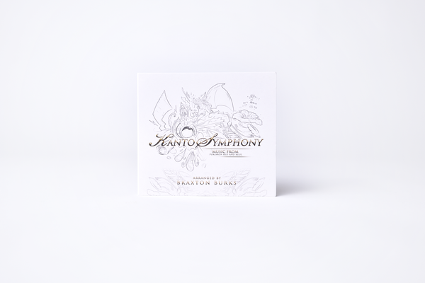 Kanto Symphony (Music From Pokémon Red And Blue) (Compact Disc) Compact Disc