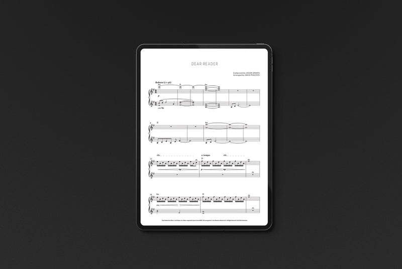 Moss Piano Selections (Digital Sheet Music) Music