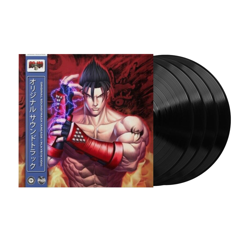 Tekken™ 3 (Original Game Soundtrack) (Limited Edition 4xLP Vinyl Record)