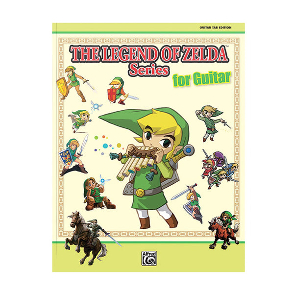 The Legend Of Zelda Series For Guitar Sheet Music