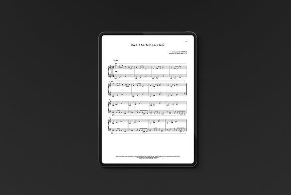 Undertale Complete Piano Score (Digital Sheet Music) Music