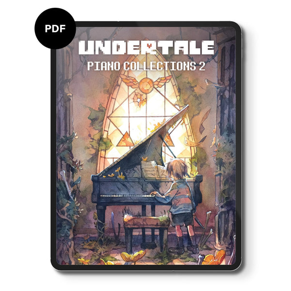 Undertale Piano Collections 2 (Digital Sheet Music) Music