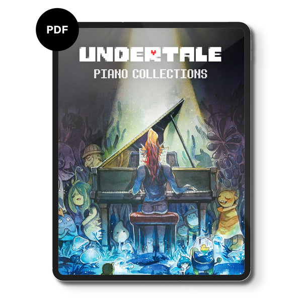 Undertale Piano Collections (Digital Sheet Music) Music
