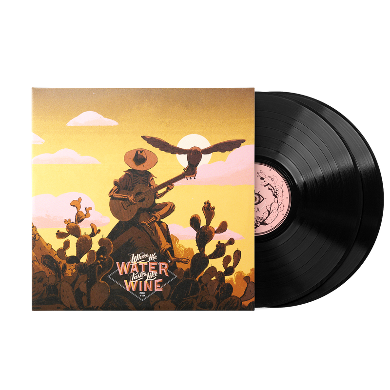 Where the Water Tastes Like Wine (2xLP vinyl)