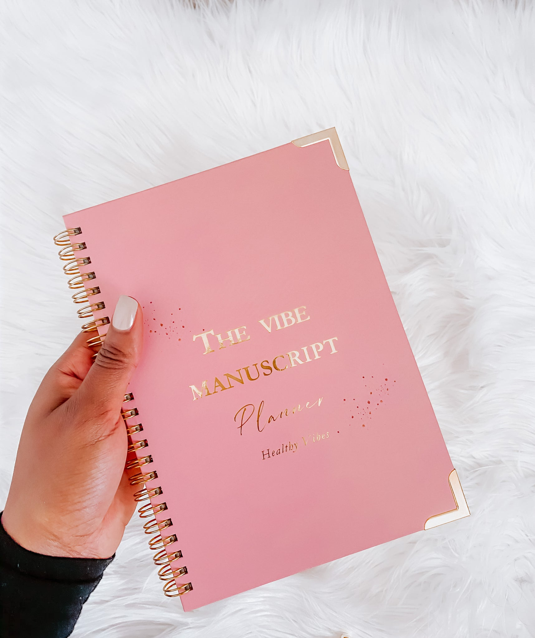 The Vibe Manuscript: A Self Care Journal