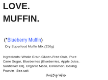 Love Muffin (Blueberry)