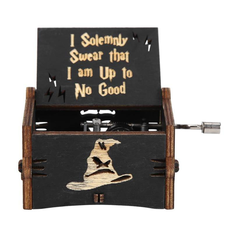 Wooden Harry Potter Music Box (FREE Shipping)