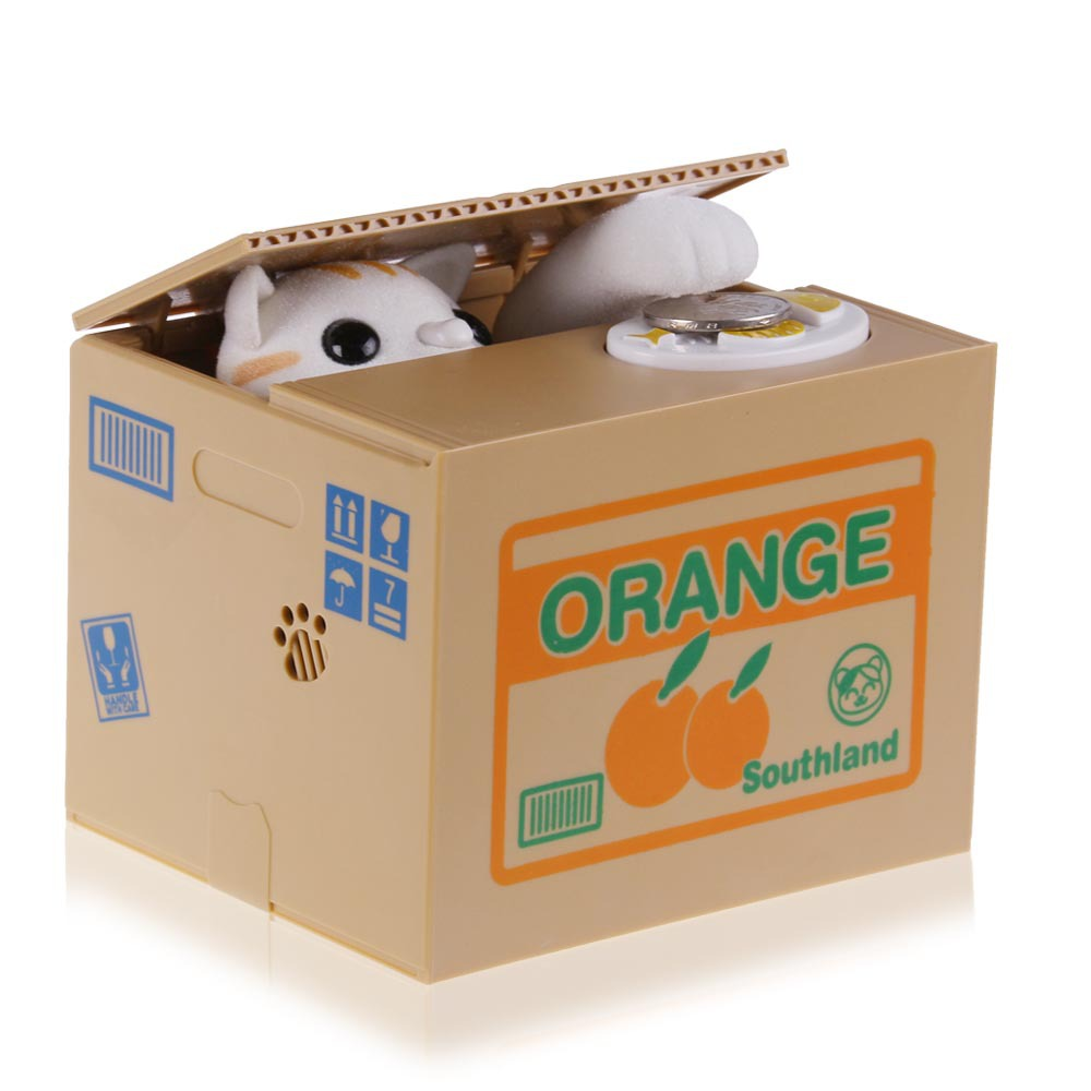 Cute Cat Money Saving Box