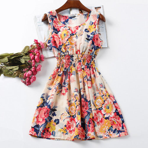 Vestidos Festa Floral Mini Dress
