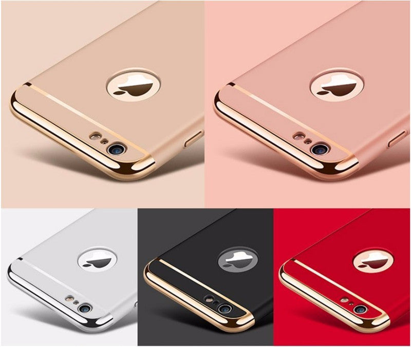 Luxury Ultra-thin iPhone Case for iPhone 5 5s iPhone 6, 6s, 6 Plus, 6s Plus, iPhone 7 & iPhone 7 Plus