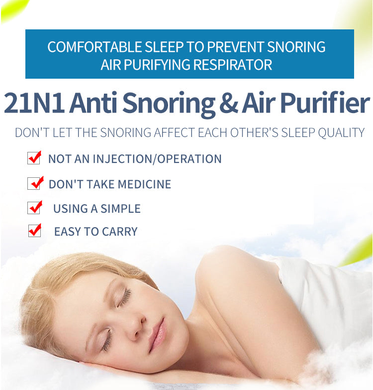 Anti Snoring, Sleep Aid