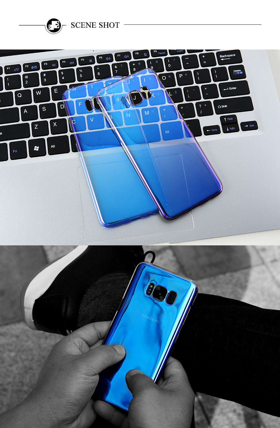 COOL GRADIENT CASE FOR SAMSUNG GALAXY