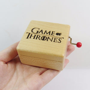 Game of Thrones Wooden Music Box [FREE SHIPPING]