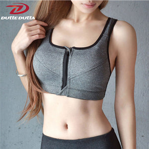 High Impact Zip Bra