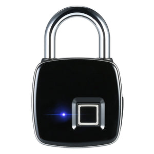 Smart Fingerprint Lock Bio-metric Portable Waterproof Padlock with Finger Print Control