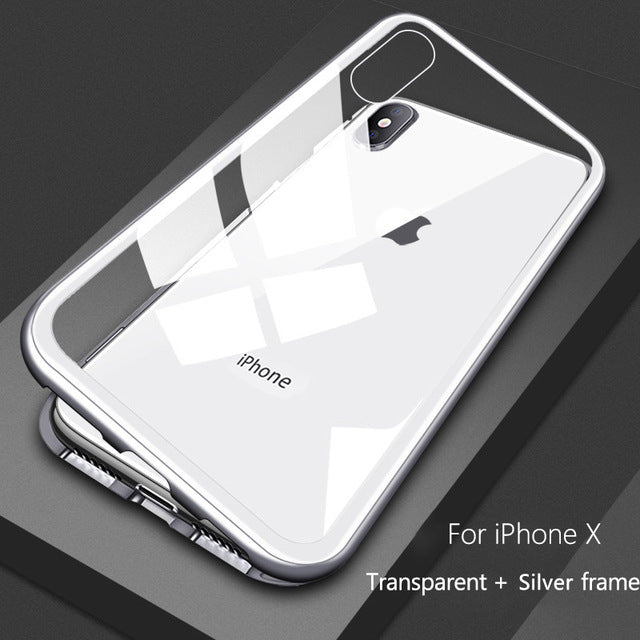 Magnetic Adsorption Case for iPhones