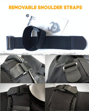 militaur removable shoulder strap